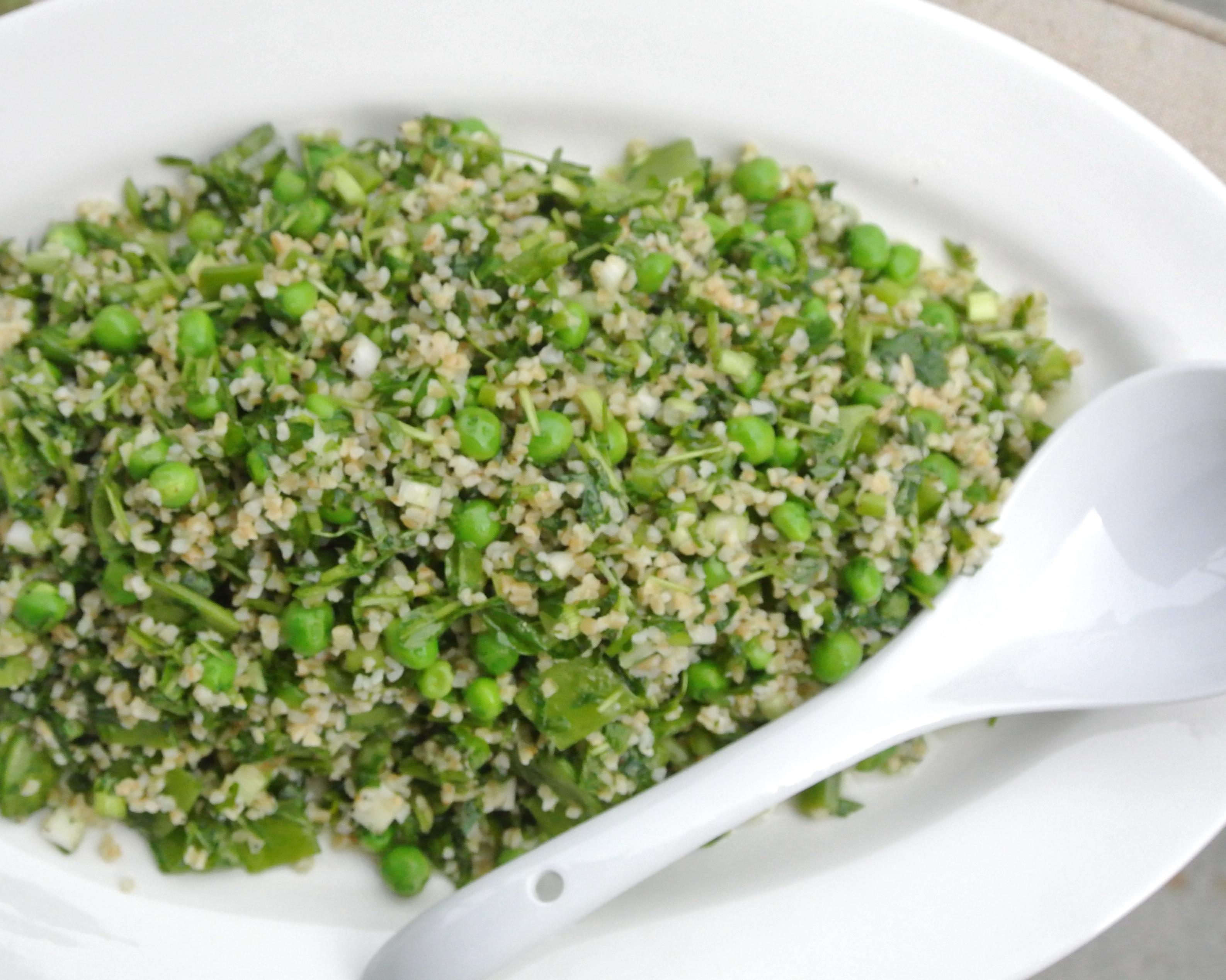 Spring Tabbouleh Salad