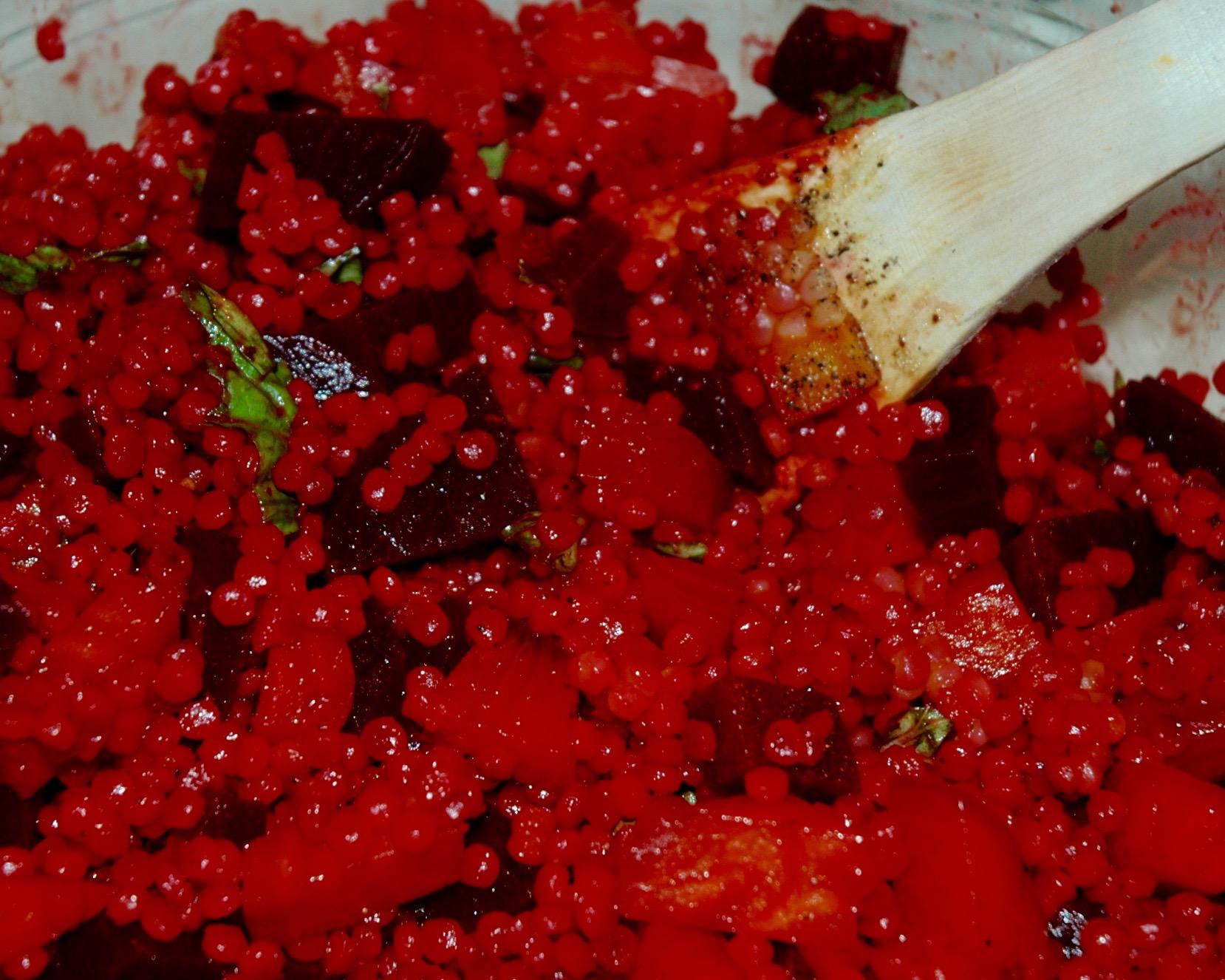 salad moroccan beet salad with cinnamon farro beet and herb salad beet ...